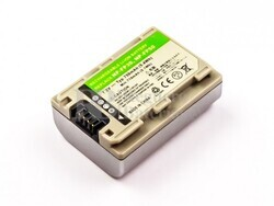 Batería  NP-FP50, Li-ion, 7,2V, 750mAh, 5,4Wh, silver, para camaras Sony