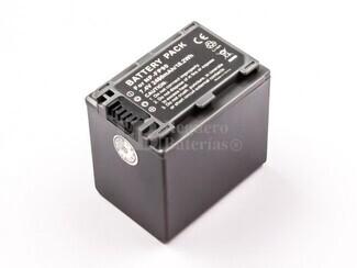 Batería NP-FP90, Li-ion, 7,4V, 2460mAh, 18,2Wh, dark grey, para camaras Sony