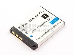 Batería NP-FT1, Li-ion, 3,7V, 710mAh, 2,6Wh, para camaras Sony