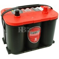 Bateria Optima RED TOP  RTR 4.2 AGM 12 Voltios 50 Amperios