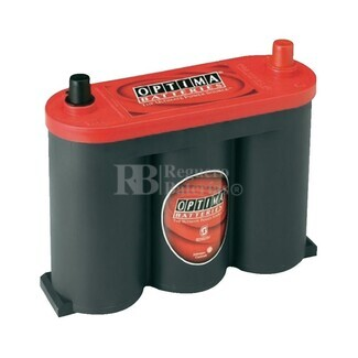 Bateria  Optima RED TOP  RTS 2.1 AGM  6 Voltios 50 Amperios