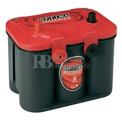 Bateria Optima RED TOP  RTU 4.2 AGM 12 Voltios 50 Amperios