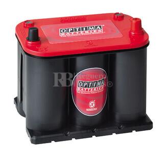 Bateria Optima REDTOP  RTR3.7 AGM 12 Voltios 44 Amperios