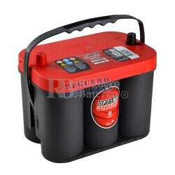 Bateria  Optima RED TOP  RTS 4.2 AGM 12 Voltios 50 Amperios