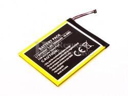 Bater�a OT compatible para Alcatel Pixie 7 Li-Polymer, 3,8V, 2800mAh, 10,6Wh