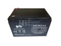 Batería Alarma de 12 Voltios 14.5 Amperios