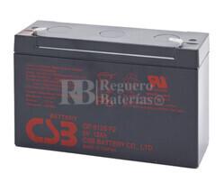 Batería Patinete Razor Bumper Buggie 6 Voltios 12 Amperios