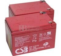 Baterías Patinete Roan 350W 24V R4 24 Voltios 15 Amperios AGM