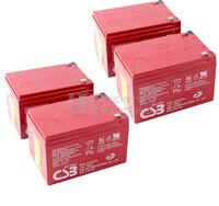 Baterías Patinete Roan 1000W 48V R6,5 48 Voltios 15 Amperios AGM