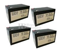 Baterías Patinete Roan 1000W 48V R6,5 48 Voltios 15 Amperios