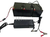 Kit 36 Voltios 14 Amperios con Conexiones y Cargador 36V para Scooter Eléctricos