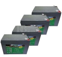 Kit 48 Voltios 12 Amperios de Gel para Patines Eléctricos