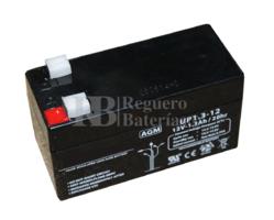 Batería para Alarma Ademco 484 12 Voltios 1,3 Amperios