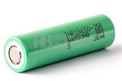 Batería de Litio 18650 3,6 Voltios para Linternas Recargables