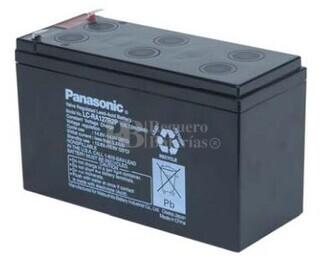 Bateria Panasonic LC-RA127R2P  12 Voltios 7,2 Amperios