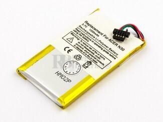 Bateria para Pda Acer N30, Navman Pin 570, Typhonn Myguide 2500, Typhoon Myguide 2500 Go