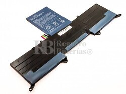 Batería para Acer S3 Ultrabook 13.3, S3-951, S3-951-2464G24iss, S3-951-2464G34iss, S3-951-6464, S3-951-6646