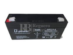 Batería para Alarma 6 Voltios 3.3 Amperios NP3.3-6