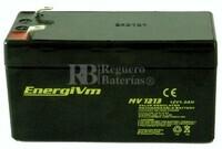 Batería para Alarma de 12 Voltios 1,3 Amperios