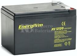 Batería para Alarma de 12 Voltios 12 Amperios MV12120