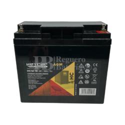 Batería para Alarma de 12 Voltios 18 Amperios HC12-18