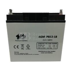 Batería para Alarma de 12 Voltios 18 Amperios PB12-18