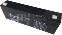 Batería Alarma 12 Voltios 2.2 Amperios NP2.2-12