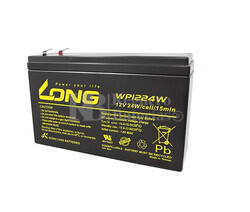 Batería para Alarma de 12 Voltios 6,5 Amperios WP1224W