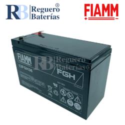 Batería para Alarma de 12 Voltios 9 Amperios FIAMM 12FGH36