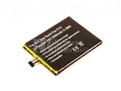 Bateria para ALC One Touch Pop 3 5.5, Li-Polymer, 3,8V, 2900mAh, 11,0Wh.