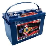Bateria para apilador 12 voltios 105 Amperios C20 349x171x238 mm US Battery US27DCXC