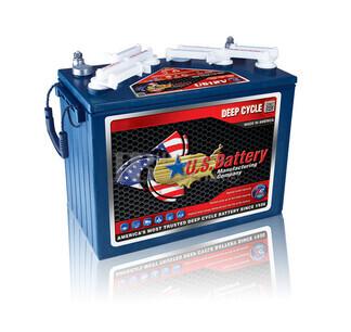Bateria para apilador 12 voltios 155 Amperios C20 333x179x289 mm US Battery US12VXC2