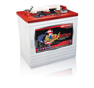 Bateria para apilador 6 voltios 232 Amperios C20 260x181x286 mm US Battery US2200XC2