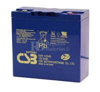 Batería Arrancador 12 voltios 24 amperios EVH12240