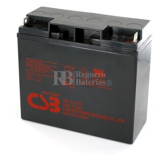 Batería para Ascensores 12 Voltios 17 Amperios CSB GP12170