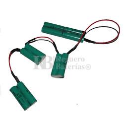 Batería para Aspirador AEG 4055132304 12 Voltios 2.200 mah