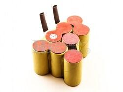 Batería para Aspirador B&D Dustbuster Extreme DV9605 NiMH 9,6V 2000mAh