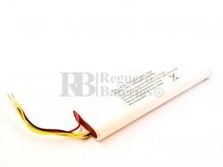 Batería para Aspirador Electrolux Trilobite ZA1, ZA2, NiMH, 18V, 3000mAh