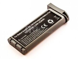 Batería para aspirador iRobot SCOOBA 230 NiMH, 7,2V, 1500mAh