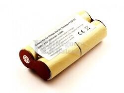 Batería para Aspirador Philips Electric Sweeper FC6125 NiMH 4,8V 2000mAh