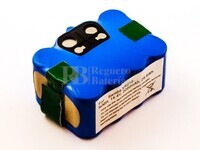 Batería para aspirador Samba,E.ziclean,Hoover, NiMH, 14,4V, 2000mAh, 28,8Wh