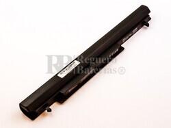 Batería para Asus A46, A32-K56,F301, A31-X401, X401U Series, X501 Series, X501A Series