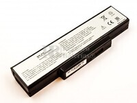Batería para Asus A72, A72D, A72DR, A72F, A72J, A72JK, A72JR, K72, K72D, K72DR, K72DY, K72F, K72J, K72JA