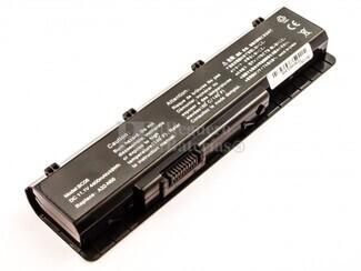 Batería para Asus N45 Series, N55 Series, N75E Series, N75S Series, N75SF Series, N75SJ Series, N75SL Series, N75SN Series, N75SV Series