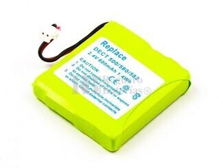 Bateria para teléfonos AUDIOLINE Slim DECT 500 Medion Life S63006 TELEKOM Sinus A201...