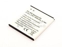 Batería para BQ Aquaris E4, Li-Ion, 3,8V, 1500 mAh, 5,7Wh