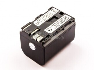Batería BP-522 para cámara Canon, MVX3I, OPTURA 10, OPTURA 100MC, OPTURA 20, OPTURA 200MC