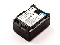 Batería BP-808 para cámaras Canon VIXIA HF M30, LEGRIA HF S21, LEGRIA HF S200