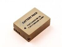 Batería para CANON NB-10L,PowerShot G1 X, PowerShot G15, PowerShot G16