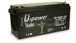 Bateria para caravana 12 voltios 150 amperios AGM Conexión Tornillo
